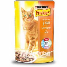 Консервированный корм для кошек Friskies 85g/100g