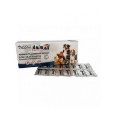 Таблетки для собак и кошек от эндопаразитов Animall на 10кг