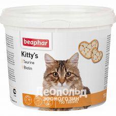 Витамины для кошек Beaphar Kittys + Taurine + Biotine