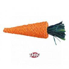 Игрушка для грызунов Trixie 6189 морковь сизаль 20см