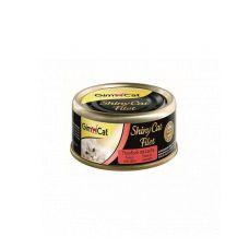 Консервы для кошек Gim Cat Shiny Cat Filet тунец и лосось 70g