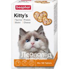 Витамины для кошек Beaphar Kittys + Taurine + Biotine + Protein + Cheese