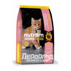 Корм для кошек Nutram sound balanced kitten 320g