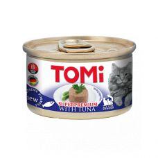 Консерва для кошек Tomi мус с тунцом 85g