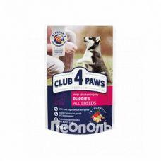 Консервы для собак Club 4 Paws Premium для щенков с курицей в желе 100g